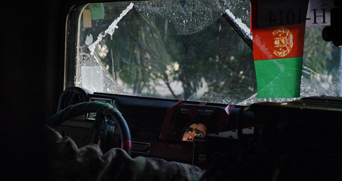 Heaving fighting in Sangin, Helmand, Afghanistan