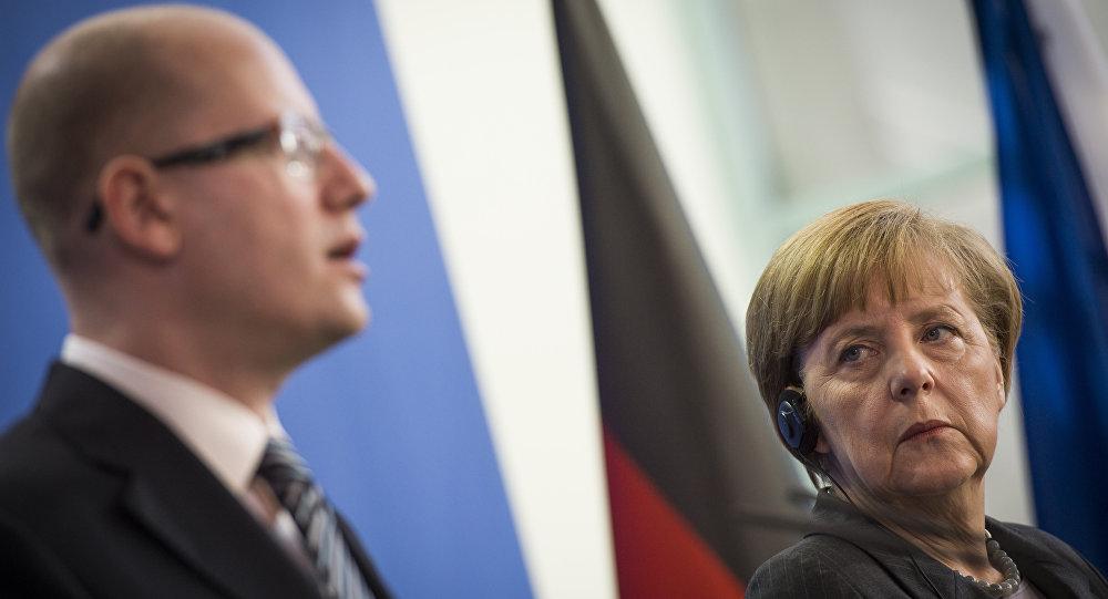 Sobotka criticizes Merkel