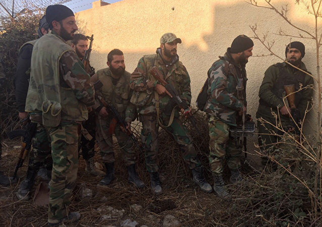 Syrian forces conduct special operation in Damascus suburb