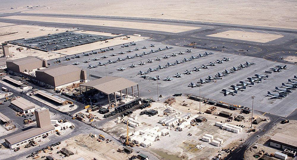 U.S. Marine Corps Marine Aircraft Group 11 aircraft at Sheik Isa, in 1991