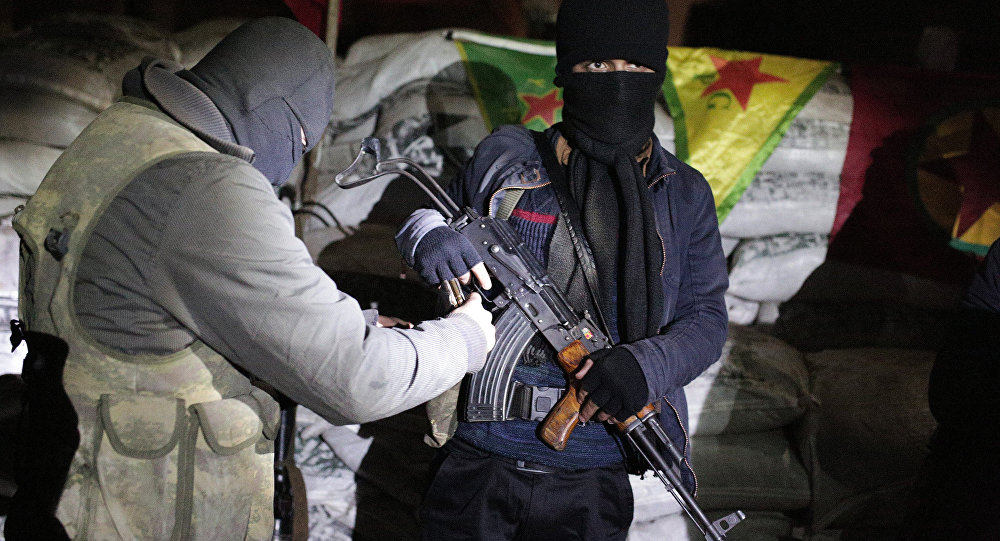 The militants of the Kurdistan Workers' Party, or PKK