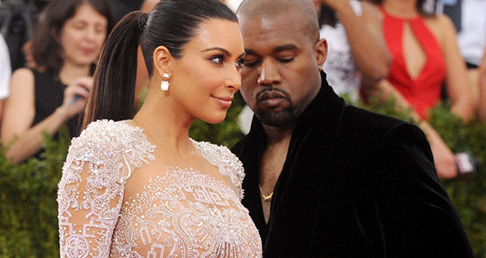 Kim Kardashian and Kanye West arrive at The Metropolitan Museum of Art's Costume Institute benefit gala.