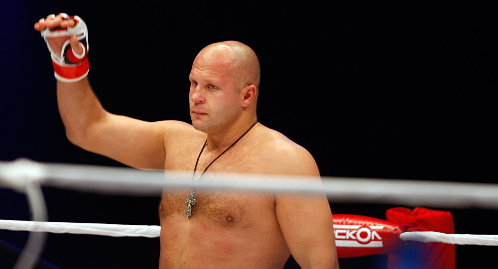 Mixed Martial Arts. Russian Fedor Emelianenko