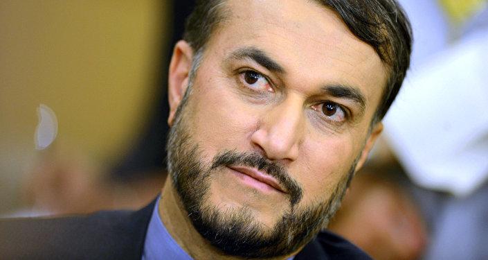Iranian Deputy Foreign Minister Hossein Amir-Abdollahian
