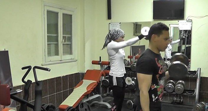 Egypt: Meet the female Muslim bodybuilder known as the Iron Lady