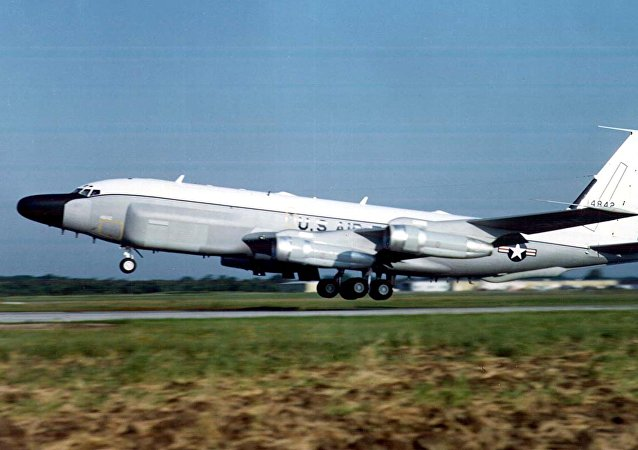 US Air Force RC-135 surveillance plane