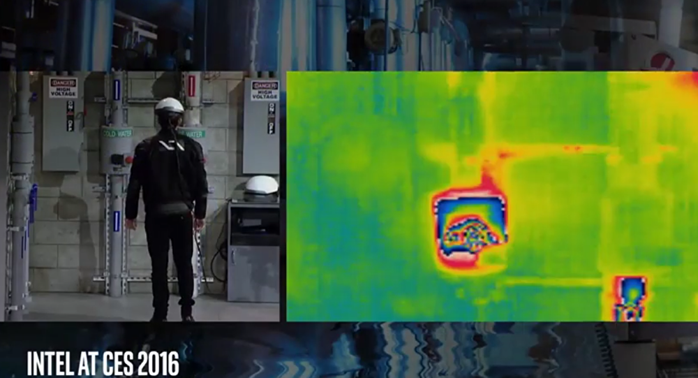 Intel has created a Smart Helmet, a device that allows wearers to basically see through solid objects like walls and pipes by overlaying maps, schematics and thermal images.