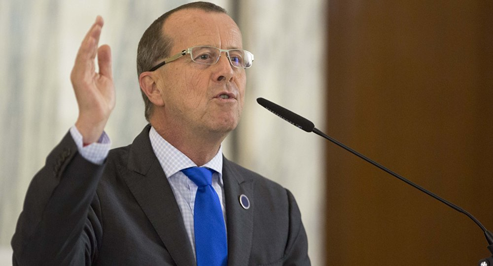 Special Representative of the UN Secretary-General for Libya Martin Kobler.