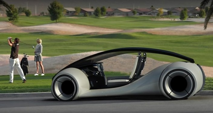reported Apple's 'iCar' concept