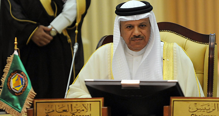 Secretary General of the Gulf Cooperation Council (GCC), Abdullatif al-Zayani