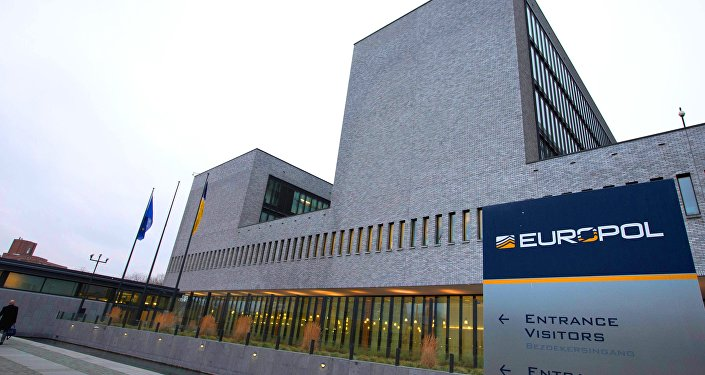 Exterior view of the Europol headquarters where participants gathered to attend the anti terror conference in The Hague, Netherlands, Monday, Jan. 11, 2016.