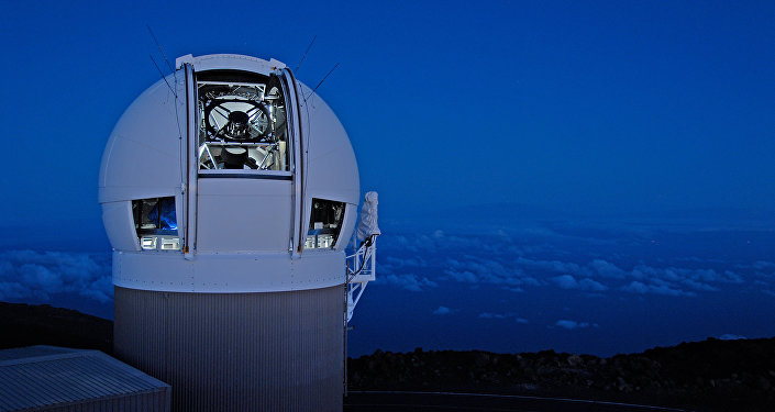 The Panoramic Survey Telescope & Rapid Response System 1 telescope on Maui's Mount Haleakala Hawaii has produced the most near Earth object discoveries of the NASA-funded NEO surveys in 2015