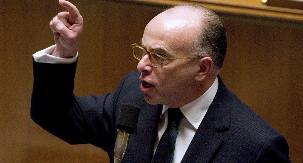 France's Interior Minister Bernard Cazeneuve