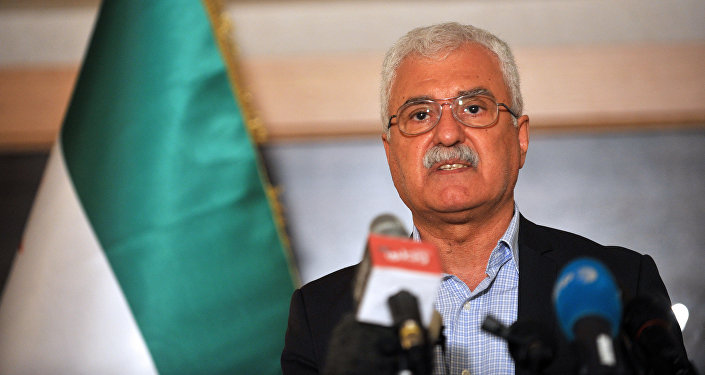 Syrian opposition representative George Sabra. (File)