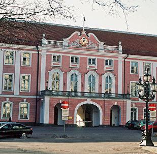 Parliament building in Tallinn