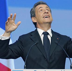 French Former President Nicolas Sarkozy