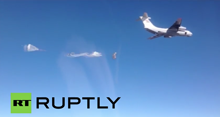 Syria: Russian planes airdrop 22 tonnes of humanitarian aid