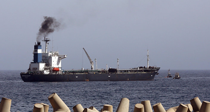 Oil tanker Morning Glory