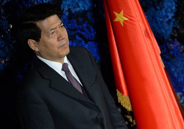 China's Ambassador  to Russia Li Hui