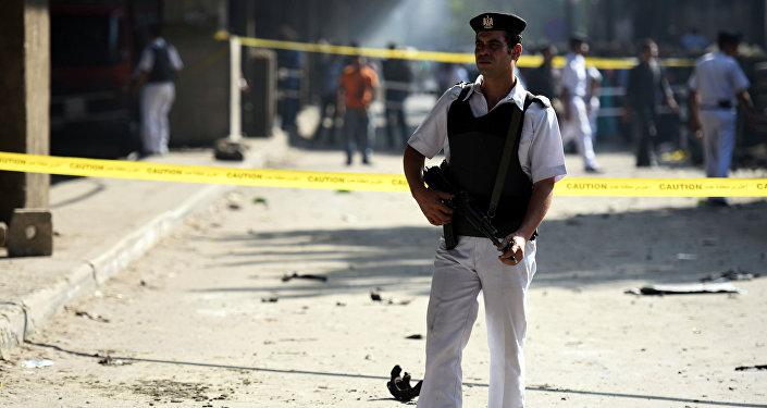 Egyptian policeman