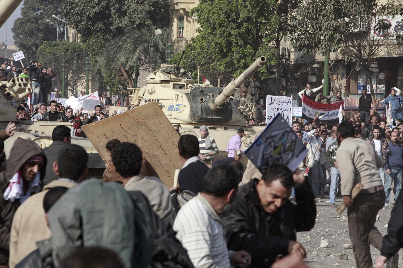 Riots in Egypt File foto