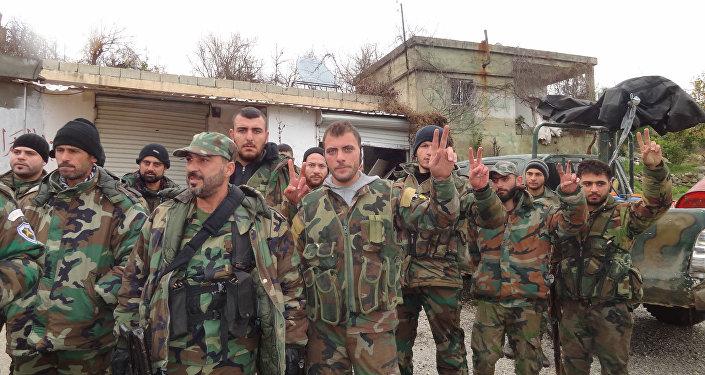 Liberated Syrian Salma, Latakia Province