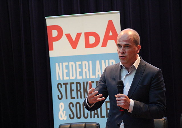 Diederik Samsom, current party leader