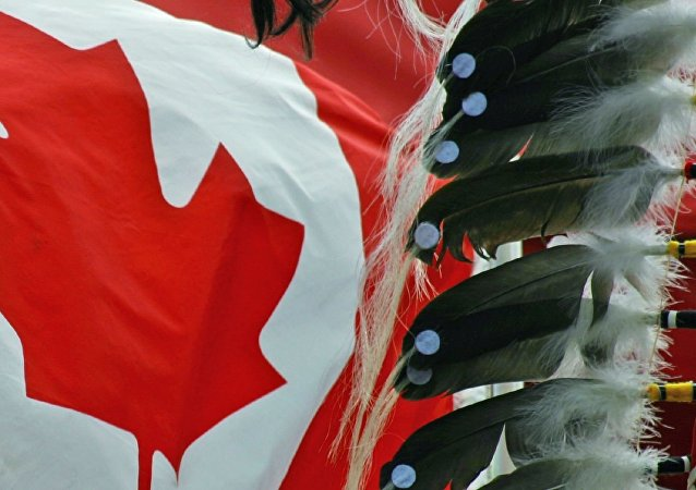 First nation and flag