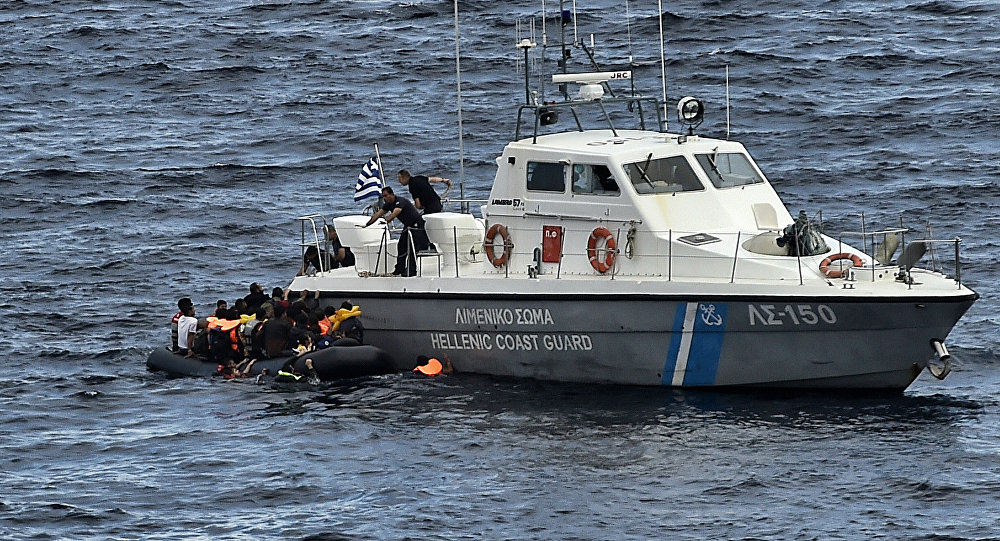 Greek coast guard fired at Turkish cargo ship, captain says