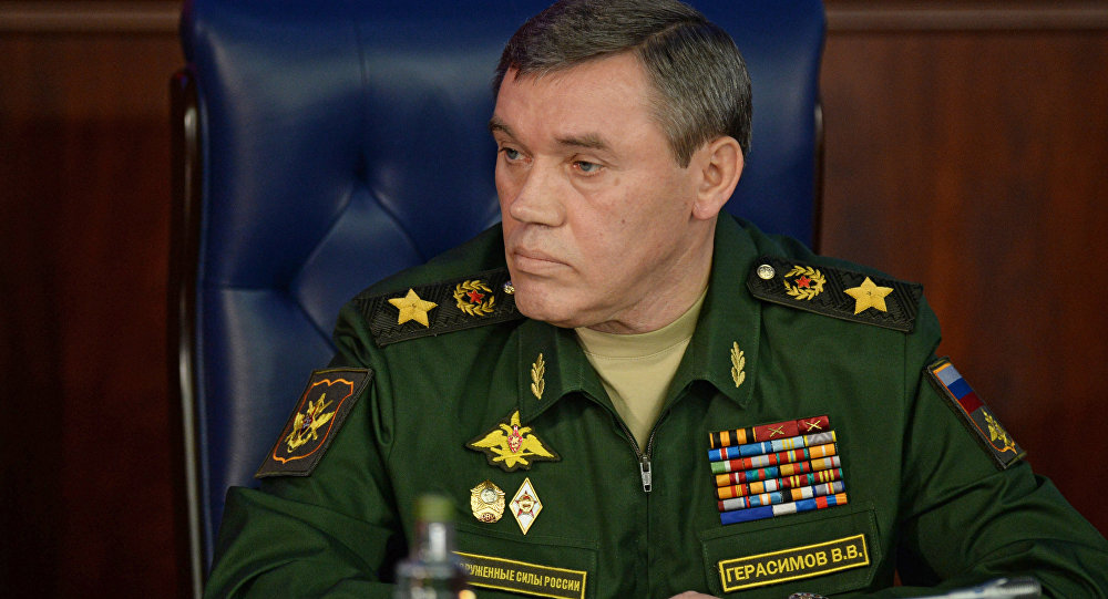 Chief of the General Staff of the Russian Armed Forces Valeriy Gerasimov