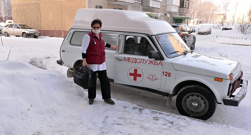Flu outbreak in Russia killed 107 people