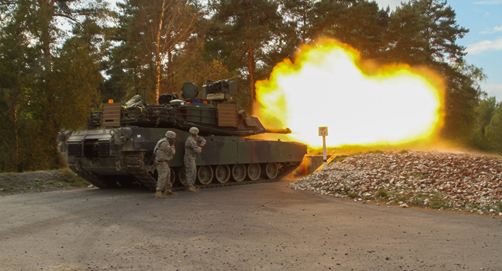 The 1st Cav Soldiers are taking part in Combined Resolve III, part of a series of training iterations designed to prepare the brigade for its role as the Army's Regionally Aligned Force supporting US Army Europe