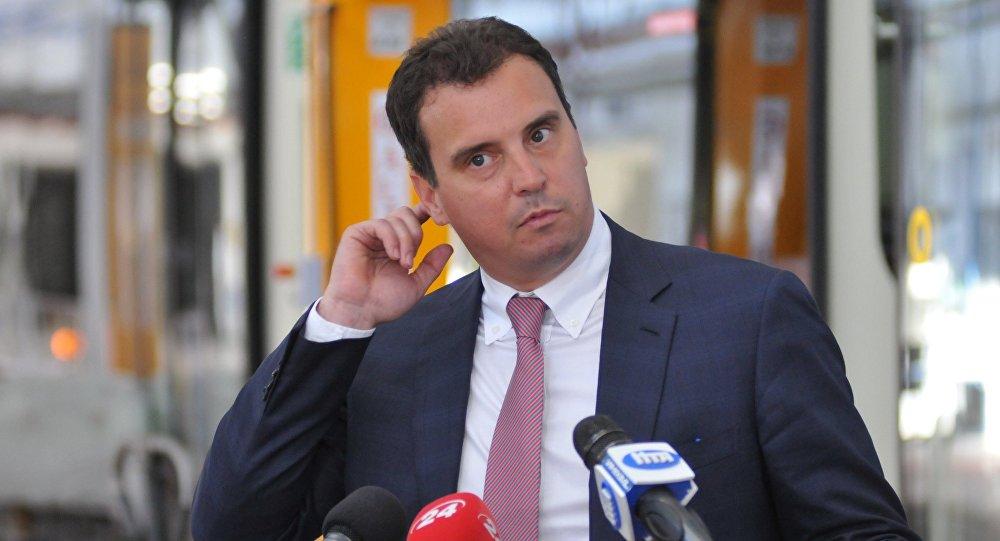 Ukraine's Economy Minister Aivaras Abromavicius