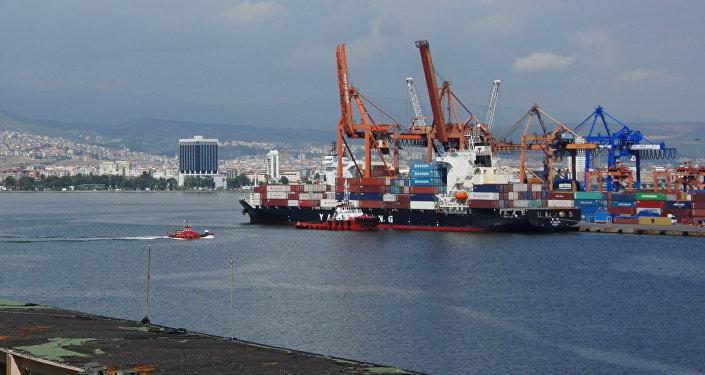 Port of Izmir, Turkey