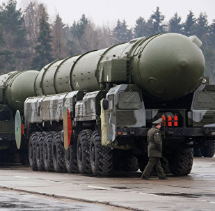 Topol strategic missile complex. File photo