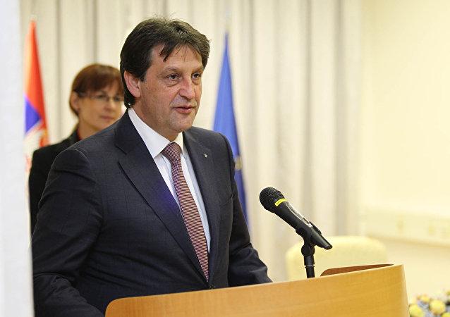 Defense Minister Bratislav Gasic