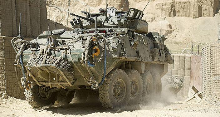 General Dynamics LAV III  in Afghanistan