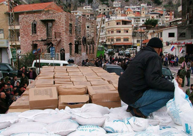 Humanitarian Aid From Moscow (file photo)
