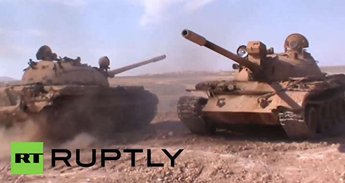 Syria: Syrian Arab Army advances against ISIS in Raqqa province