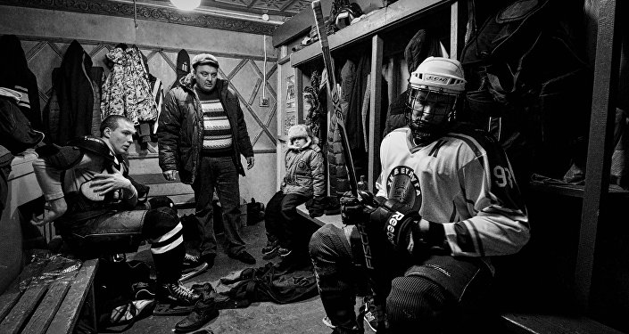 Amateur ice hockey players in the Nizhny Novgorod Region