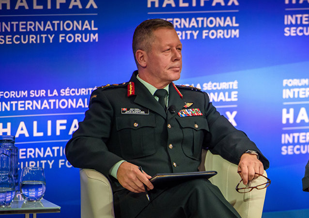Canadian Armed Forces Chief of the Defense Staff Gen. Jonathan Vance