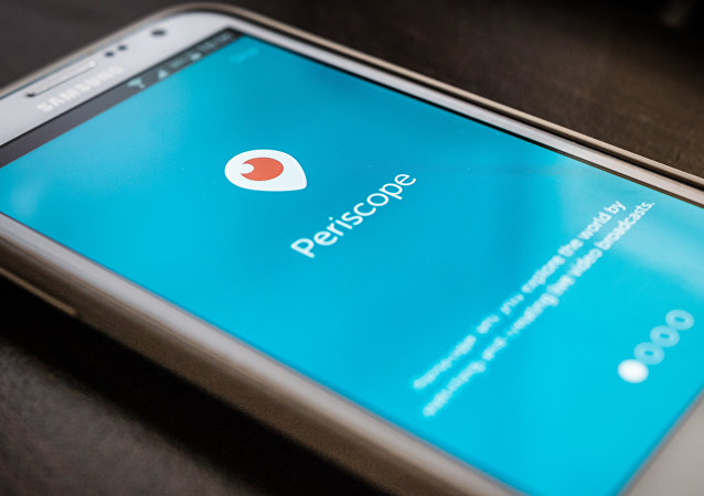 Mobile app Periscope