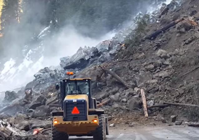Massive Idaho Landslide