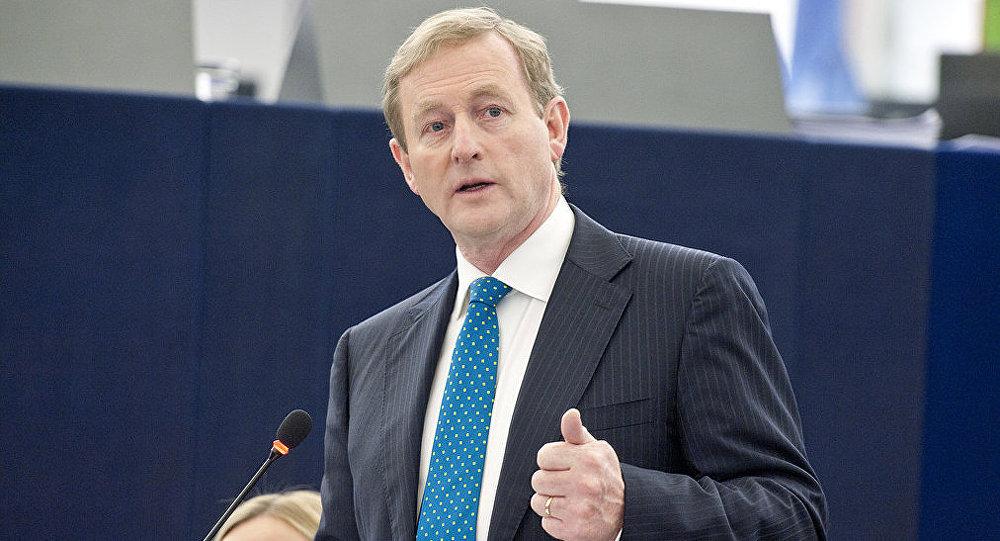 Irish Taoiseach Enda Kenny
