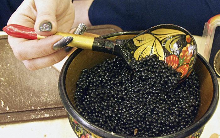 Tasty black gold russian caviar exports triple sputnik for Black caviar fish