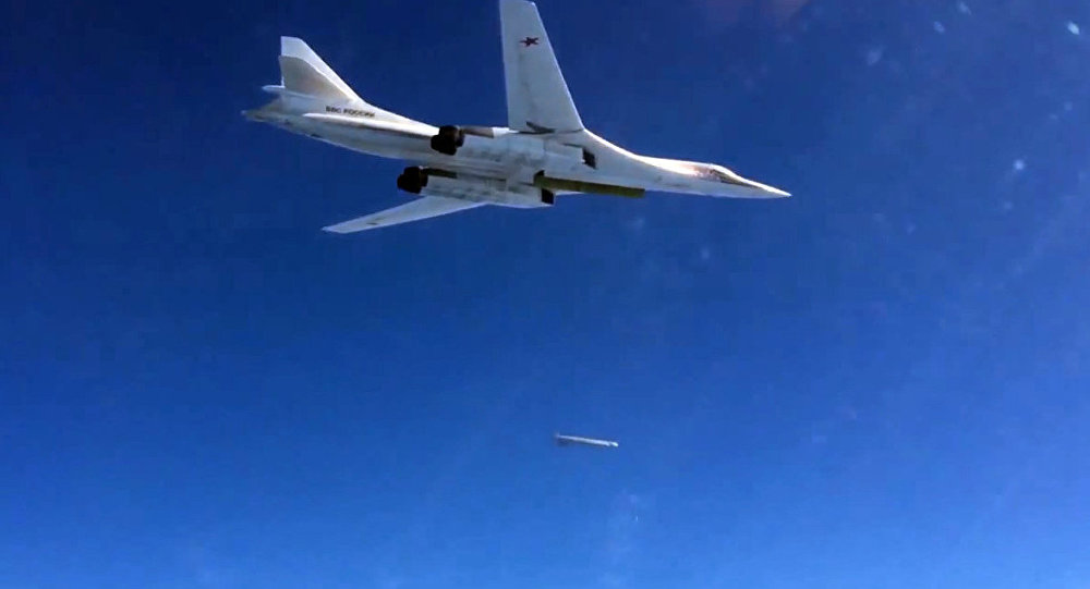 Russian Air Force's long-range aircraft hit Daesh targets in Syria
