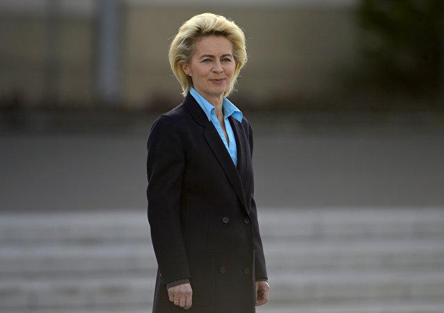 German Defence Minister Ursula von der Leyen