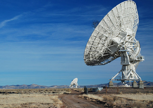 VLA Very Large Array Radiotelescope, New Mexico 2008