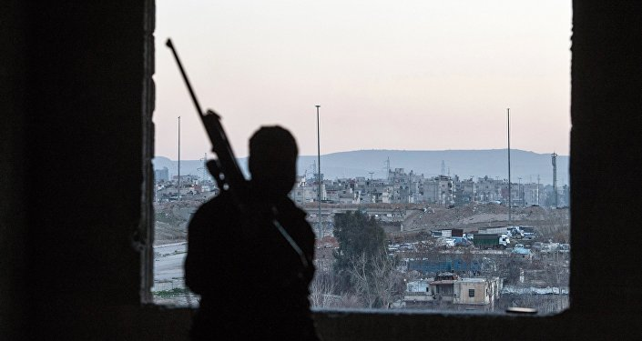 Jobar, a district of Damascus controlled by Jabhat al-Nusra militants. (File)
