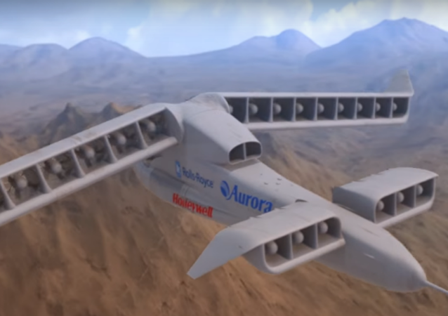 Aurora Flight Science's X-Plane